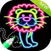 Draw glow simba mattres icon
