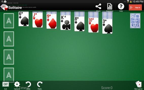 Solitaire apk screenshot