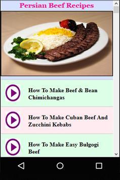 Persian Beef Recipes poster