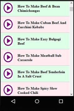 Persian Beef Recipes screenshot 1