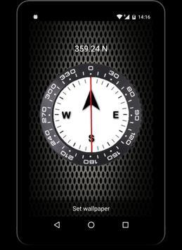 Compass Live Wallpaper FREE Screenshot 4