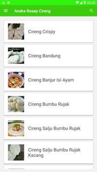 Aneka Resep Cireng screenshot 1