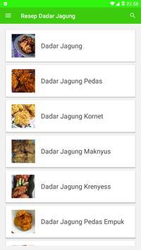 Resep Dadar Jagung screenshot 1
