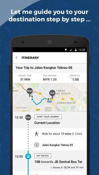 Transit For Johor screenshot 2
