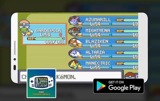 Guide Pokemon Emerald (GBA) New Complete poster