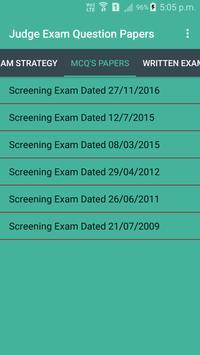 Judge Examination Question Paper screenshot 1