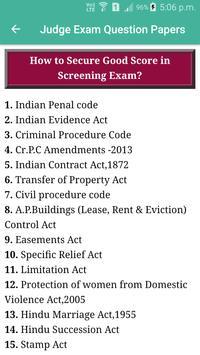 Judge Examination Question Paper screenshot 4