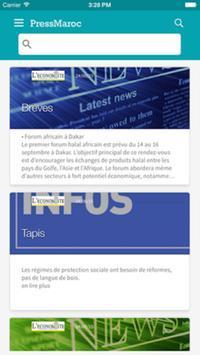 Presse Maroc : Actualités live screenshot 1