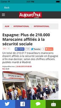 Presse Maroc : Actualités live screenshot 2