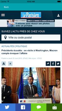 Presse FR - Actualités France apk screenshot