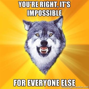 Cheer up with motivation Wolf apk screenshot