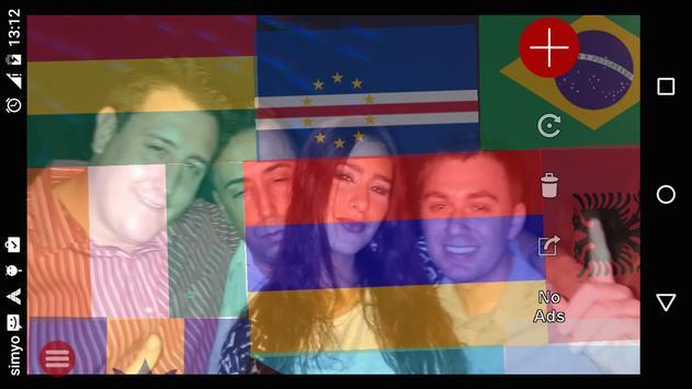 Vlaggen stickers voor foto's screenshot 4