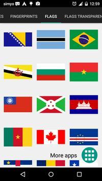 Vlaggen stickers voor foto's screenshot 5