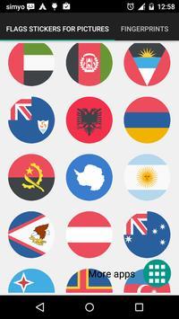 Vlaggen stickers voor foto's screenshot 1
