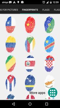 Vlaggen stickers voor foto's screenshot 3