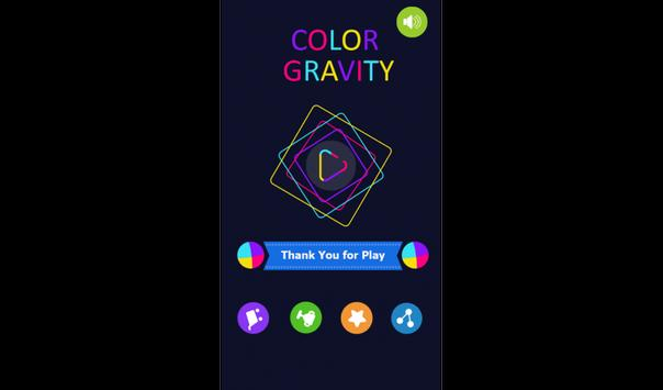 Max Color Gravity poster