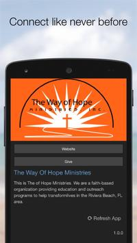 The Way Of Hope Ministries apk screenshot