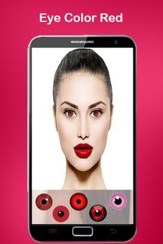 Eye color Lens Beauty screenshot 8