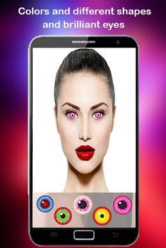 Eye color Lens Beauty screenshot 13