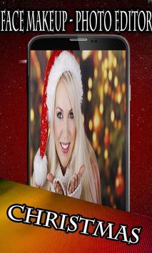 Face Makeup - Christmas poster