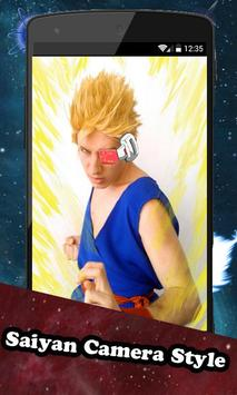 Super Saiyan Camera Style 2016 apk screenshot