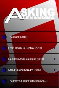 Asking Alexandria Lyrics poster