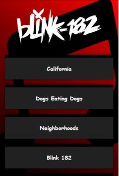 Blink 182 All Lyrics poster