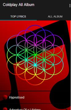 Coldplay All Album poster