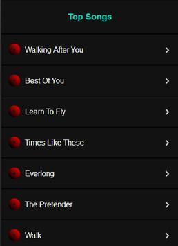 Foo Fighters All Album apk screenshot
