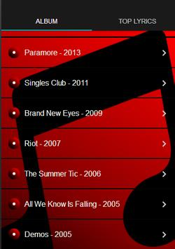 Paramore All Album screenshot 1