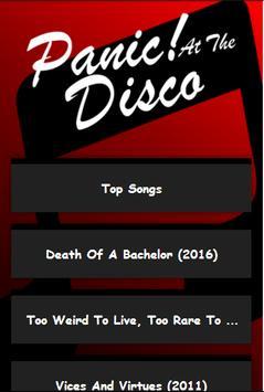 Panic! At The Disco All Lyrics poster