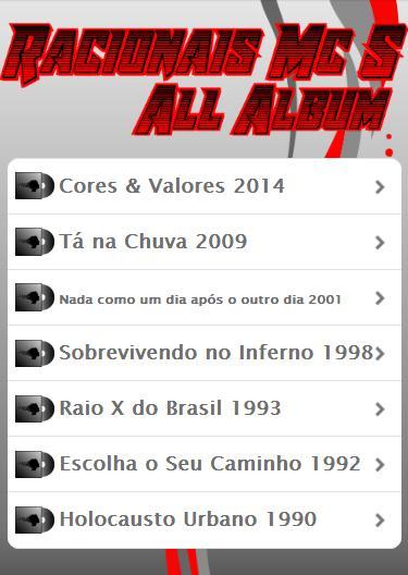 Racionais Mcs All Album For Android Apk Download