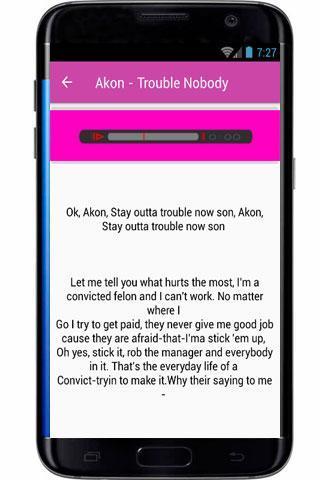 Akon Lyrics I Wanna Love You for Android - APK Download