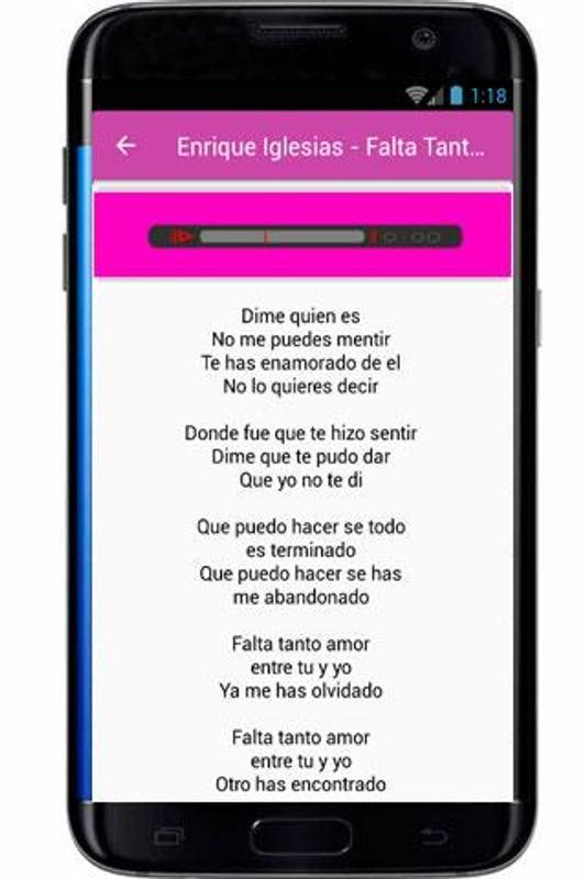 Enrique Iglesias Lyrics Hero For Android Apk Download