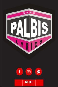 Lea Michele at Palbis Lyrics poster
