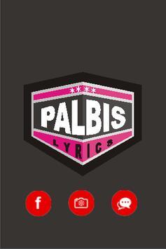 One Direction at Palbis Lyrics poster