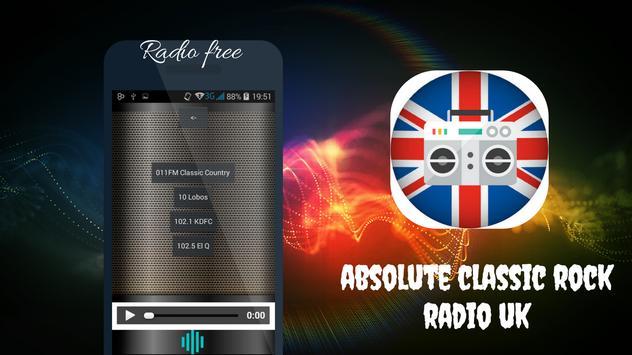 Absolute Classic Rock radio UK screenshot 11