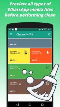 Cleaner for W A apk screenshot