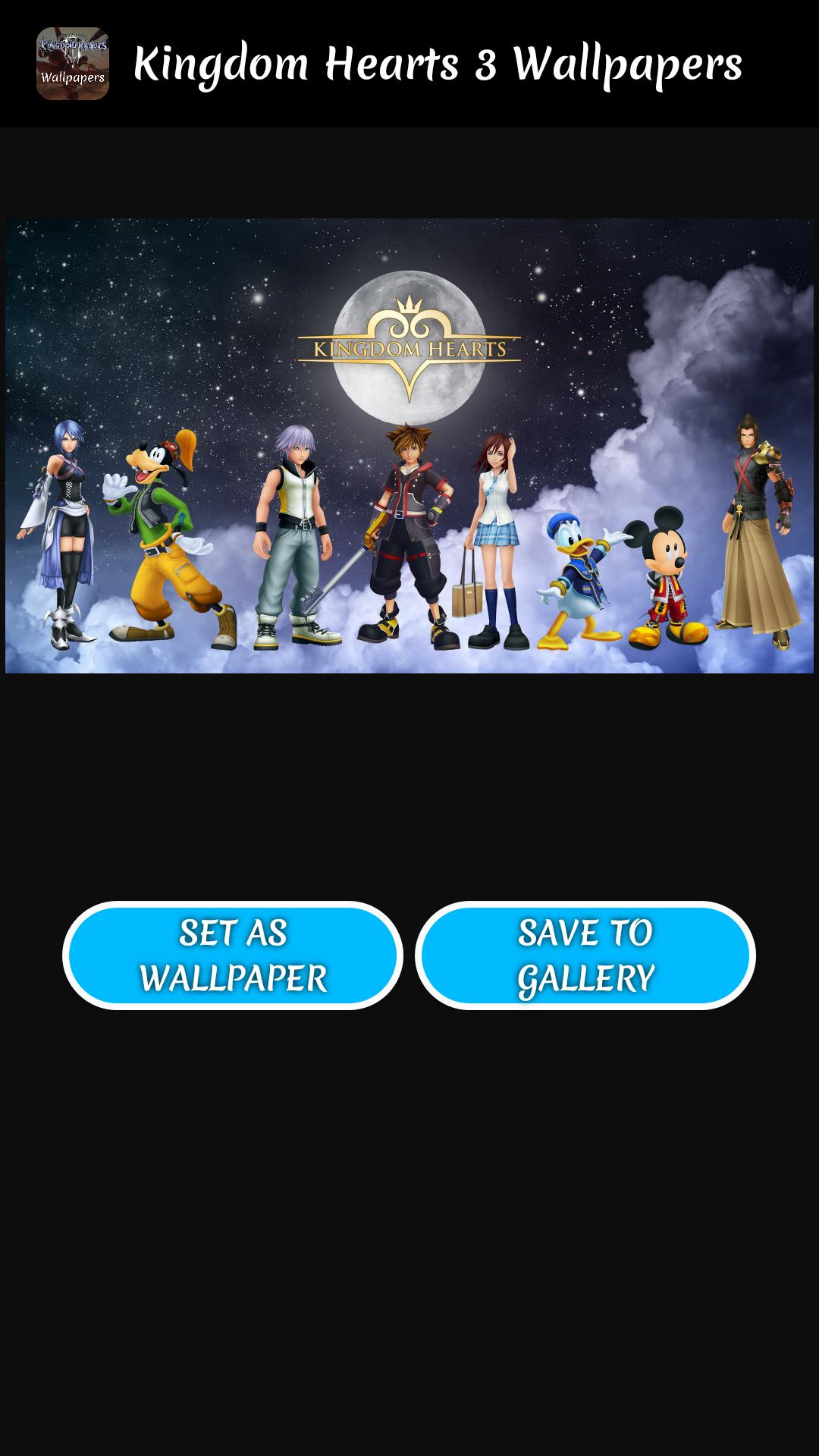 Wallpapers Of Kingdom Hearts 3 Kh3 Wallpapers For Android Apk