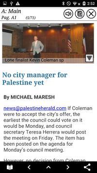 Palestine Herald-Press apk screenshot