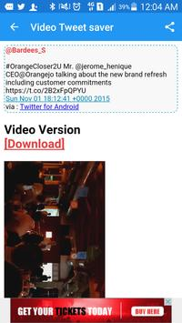 Video | GIF Tweet Saver Pro apk screenshot