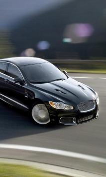 Wallpaper Jaguar XFR poster