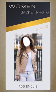 Women Jacket Photo Montage screenshot 3