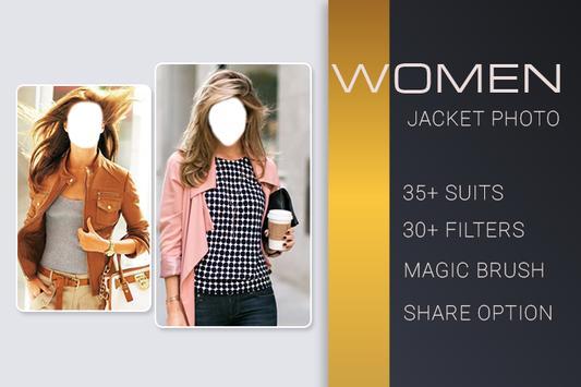 Women Jacket Photo Montage poster