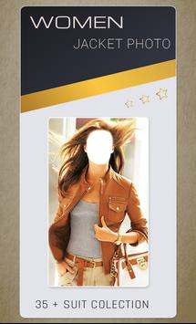 Women Jacket Photo Montage screenshot 1