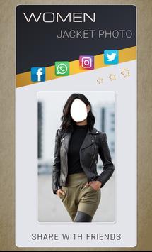 Women Jacket Photo Montage screenshot 4