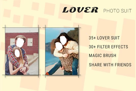 Lover Photo Suit poster