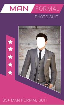 Man Formal Photo Suit Montage screenshot 1