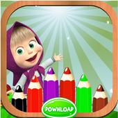 Crayon Masha icon