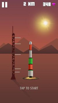 Space Frontier rocket apk screenshot